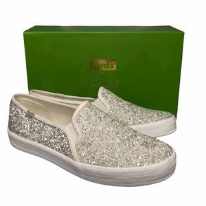 Kate Spade x Keds Double Decker Glitter Sneaker